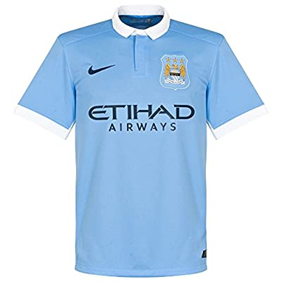 Nike 2015/16 Manchester City FC Stadium Home Kid's Soccer Jersey