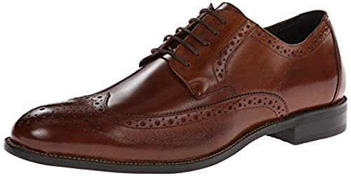 9. Stacy Adams Men's Garrison Wingtip Oxford Shoes