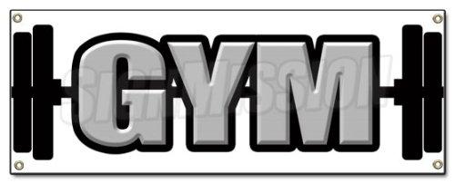 Best Elliptical 2014: GYM BANNER SIGN gymnasium workout ...