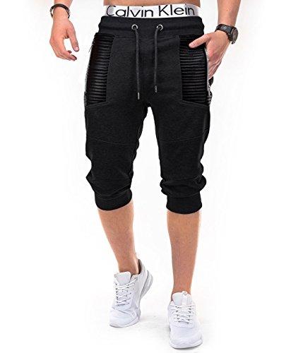 BetterStylz -  Pantaloncini  - Uomo Multicolore nero