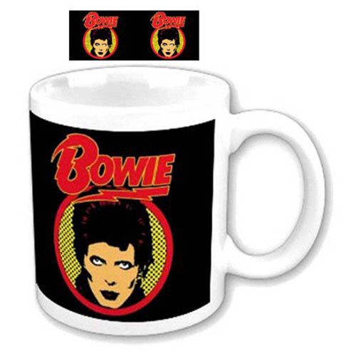 David Bowie - Mug Flash Logo