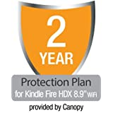 """2-Year Protection Plan plus Accident Coverage for Kindle Fire HDX 8.9"""" Wi-Fi"""