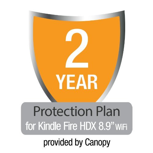 2-Year Protection Plan plus Accident Coverage for Kindle Fire HDX 8.9