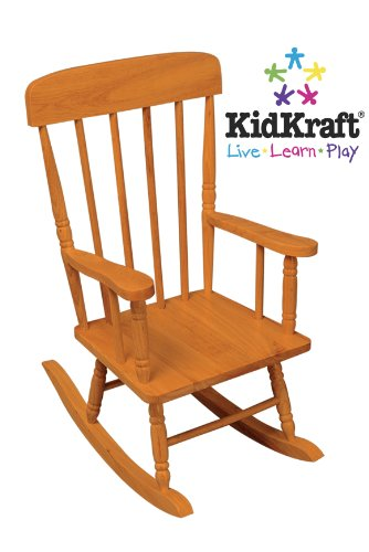 KidKraft Spindle Rocking Chair Honey Furniture Chairs Chairs
