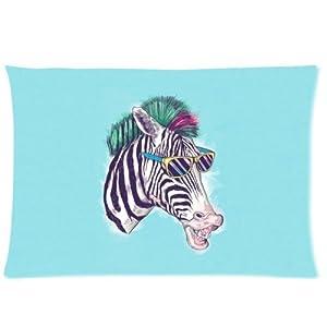 Amazon.com: Rectangle Throw Pillow Case Decorative Pillow Cover Zippered Pillowcase With Funny ...