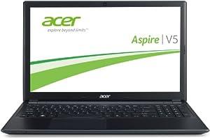 Acer Aspire V5-571G-323b4G50Makk 39,6 cm (15,6 Zoll)  Thin & Light Notebook (Intel Core i3 2365M, 1,4GHz, 4GB RAM, 500GB HDD, NVIDIA GT 620M, DVD, Win 8) schwarz