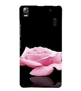 PrintVisa Rose Design 3D Hard Polycarbonate Designer Back Case Cover for Lenovo K3 Note