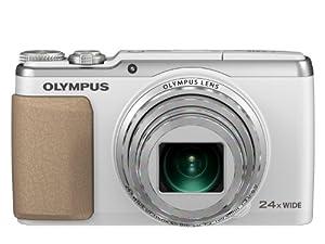 """Olympus SH-60 Appareil photo numérique compact Ecran 3"""" 16 Mpix Zoom optique 24x Blanc"""