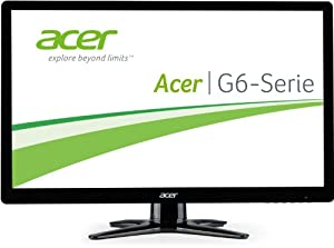 Acer G246HLBBID 24-inch Monitor 16:9 FHD 2 ms 100M:1 A 250 nits LED DVI HDMI DVI Cable Acer EcoDisplay