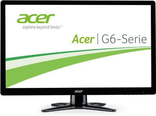 Acer G246HLBbid 61cm (24 Zoll) Monitor (VGA, DVI, HDMI, 2ms Reaktionszeit) schwarz