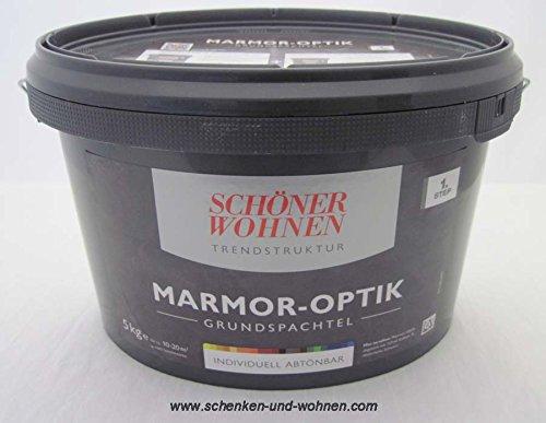 marmor optik grundspachtel 5 kg sch ner wohnen spar baumarkt. Black Bedroom Furniture Sets. Home Design Ideas