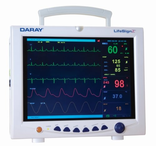 L505 Patient Monitor with SpO2/Pulse oximeter/NIBP/ECG