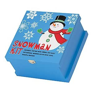 Snowman Building Kit With Box