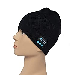 WIRELESS STEREO WARM SKULL CAP/HAT - A SKULL CAP THAT PLAYS MUSIC WIRELESSLY