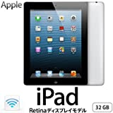 Apple 第4世代 iPad Retinaディスプレイモデル Wi-Fiモデル 32GB MD511J/A ブラック MD511JA