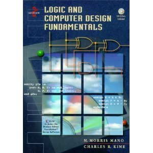 Logic and Computer Design Fundamentals (4th Edition) Solutions textbook.