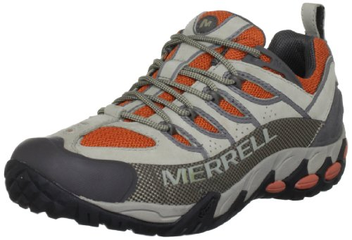 Merrell Men's Refuge Pro Vent Aluminum/Harvest Pumpkin J50977 10 UK, 44.5 EU