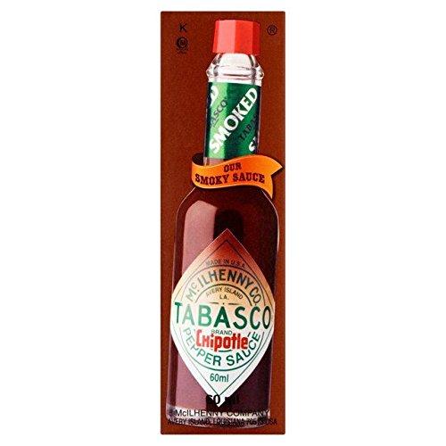 Tabasco Chipotle Sauce Smoked Red Jalapenos - 60ml (Tabasco Sauce Mild compare prices)