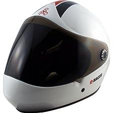 T8-Racer Downhill Longboard Helmet L/Xl [White]