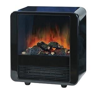 Chauffage electrique ewt mini cube radiateur lectrique - Radiateur effet cheminee ...