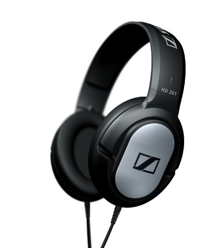 Sennheiser HD-201 Lightweight Binaural Over-Ear Headphone