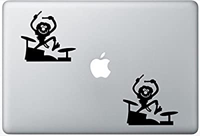 Muppets Animal Drum Drummer ArrowDecalZD0426 Set Of Two (2x) , Decal , Sticker , Laptop , Ipad , Car , Truck