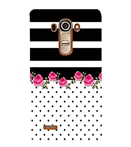 Abstract Floral Painting 3D Hard Polycarbonate Designer Back Case Cover for LG G4 :: LG G4 H815