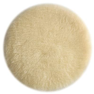 PORTER-CABLE 18007 6-Inch Lambs Wool Hook and Loop Polishing Pad from PORTER-CABLE