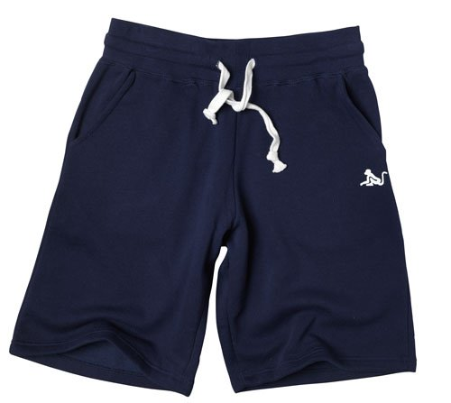 Drunknmunky Mens Jersey Shorts Navy Medium