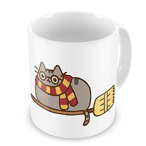 Pusheen Harry Potter Quidditch - Divertente