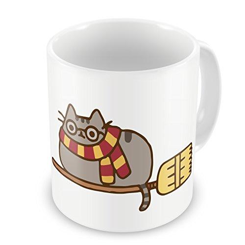 Pusheen Harry Potter Quidditch - Divertente