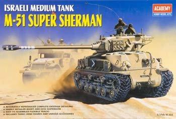 Academy 1/35th Scale Israeli medium Tank M-51 Super Sherman (Academy 1 35 Sherman compare prices)