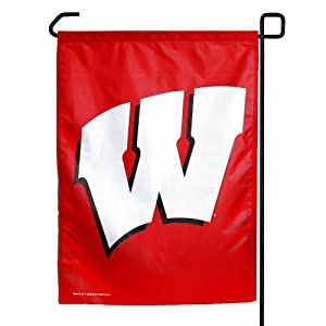 Buy NCAA Wisconsin Badgers Garden Flag by WinCraft