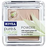 Nivea Powder Pure and Natural Colours with organic green tea, for sensitive skin. Nude 02,7g.