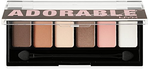NYX Cosmetics The Adorable Shadow Palette, 0.21 Ounce