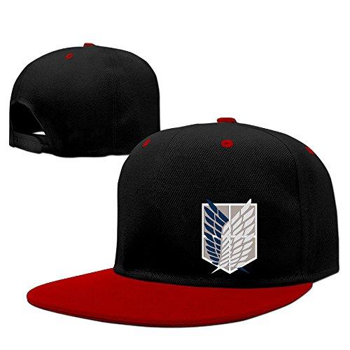 Teenmax -  Cappellino da baseball  - Uomo Red Taglia unica