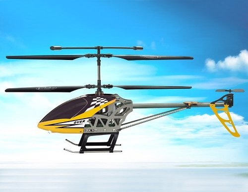SongYang TOYS 8088-42 3.5-Channel Alloy RC Helicopter (Yellow)
