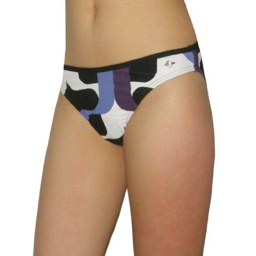 Soliver Womens Soft & Smooth Surf Swim Bikini Trunks / Bottom - Quick Dry - Multicolor