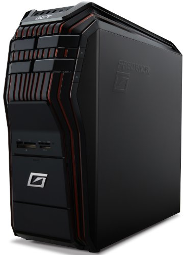 Acer Aspire Predator G5910 Desktop-PC (Intel Core i7 2600k, 3,8GHz, 16GB RAM, 2TB HDD, AMD HD 7970, DVD, Win 7 HP)