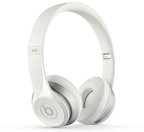 Beats by Dr. Dre Solo2 Cuffie Wireless On-Ear, Bianco