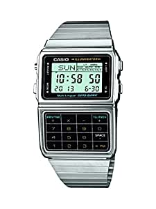 Casio Collection Herren-Armbanduhr XL Digital Quarz Edelstahl DBC-611E-1EF
