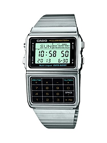Casio Unisex Watch DBC-611E-1EF Data Bank. A distinctive classic from the 80s.