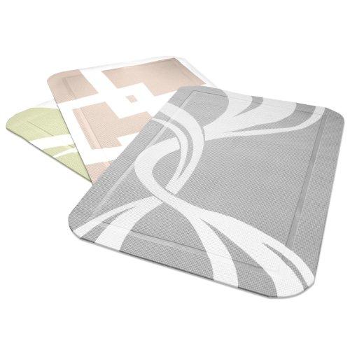 PetFusion SmartGrip Cat Litter Mat (Gray Twist)