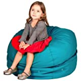 Storage Bean Bag Chair Color: Aqua