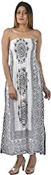 HotShot Women's Rayon Sleeveless Dress (RH029, Large)