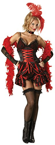Incharacter Womens Sexy Dance Hall Darling Show Saloon Halloween Fancy Costume