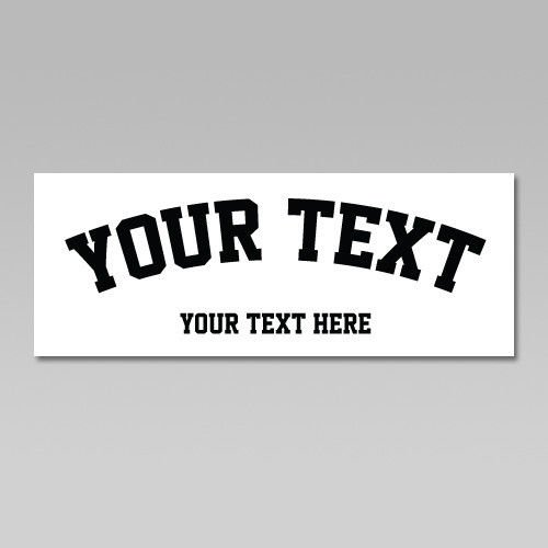 Custom Your Text,Pre-Spaced Text,jerseys, uniforms,or any T-shirt.Hockey Helmet,Heat Transfer Vinyl,iron on Heat Transfer (2.3/4″H up to 14″L, ONE COLOR) (Iron On Vinyl Letters For Fabric compare prices)
