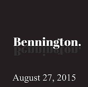 Bennington, Matteo Lane, August 27, 2015 Radio/TV Program
