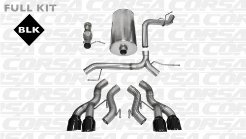 CORSA 14887BLK Cat-Back Exhaust System