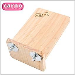 Dimart A Wooden Hamster Chinchilla Platform Springboard Wooden Small Animal Platform For Cage